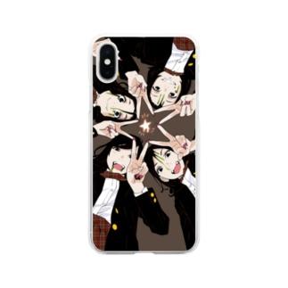 オトメの帝国ハロウィンスペシャル/ディベート部 Soft clear smartphone cases