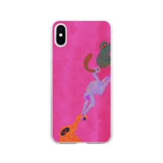 モンキーレスキュー2 Soft clear smartphone cases