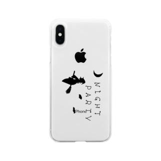 魔法使いの夜 Soft clear smartphone cases