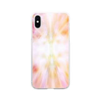 光へ Soft clear smartphone cases