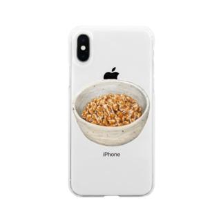 ネバーエンディングストーリー Soft clear smartphone cases