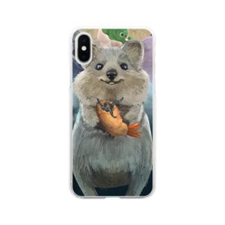 クワッカ虚無フライ Soft Clear Smartphone Case