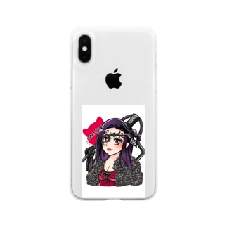 neiro姐さん Soft clear smartphone cases