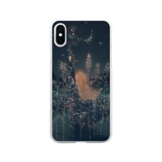 小さな夜を閉じ込めて Soft clear smartphone cases