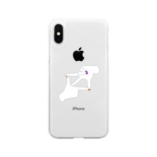ハロウィン ネイル Soft clear smartphone cases
