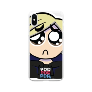 PDR SucksのPえんスマホケース Soft clear smartphone cases