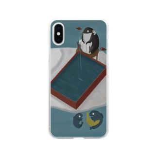 氷の下では Soft clear smartphone cases