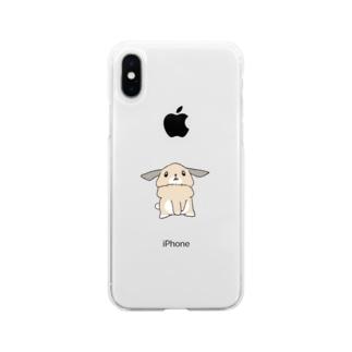 うわめづかい カラーver Soft clear smartphone cases
