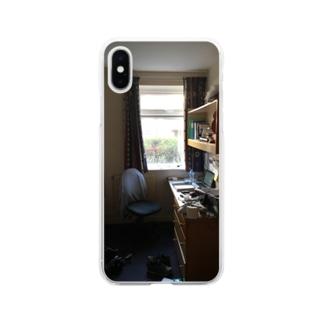 イギリスの部屋 Soft clear smartphone cases