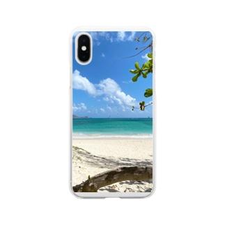 Kailua Beach Soft clear smartphone cases