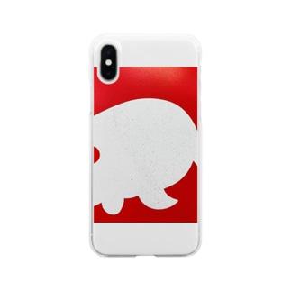 金魚一道オリジナル Soft clear smartphone cases