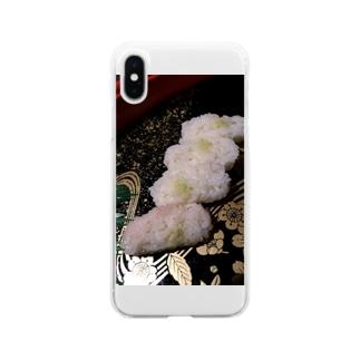 贅沢遺産廃棄物 Soft clear smartphone cases
