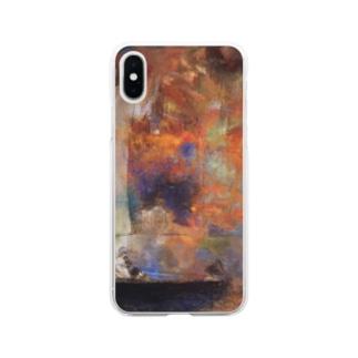 オディロン・レドン / Flower Clouds / 1903 / Odilon Redon. Soft clear smartphone cases