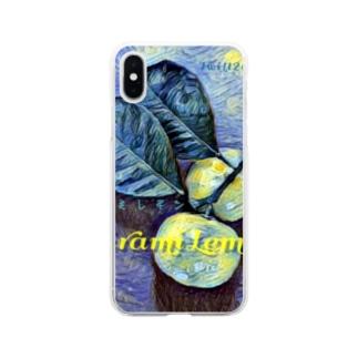 ヒラミレモン(シークワーサー) Soft clear smartphone cases