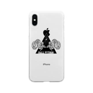 ボールパイソン Soft clear smartphone cases