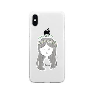マーガレット Soft Clear Smartphone Case