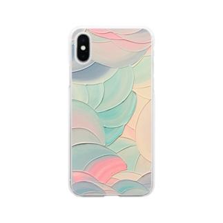 蜃愛 Soft clear smartphone cases