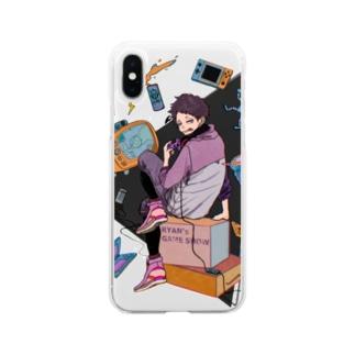 ライアンGAMING SHOW iPhoneケース Soft clear smartphone cases