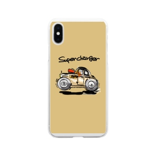 Super charger  Soft Clear Smartphone Case