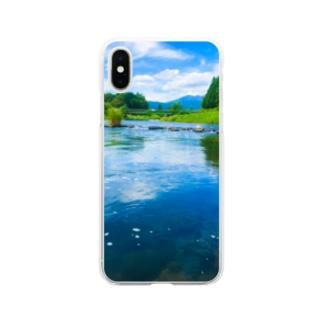 荒川(in栃木) Soft Clear Smartphone Case
