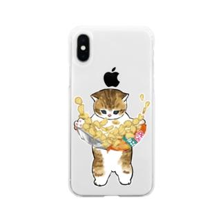 下手くそかっ Soft clear smartphone cases