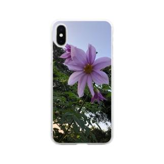 大きな顔 Soft clear smartphone cases