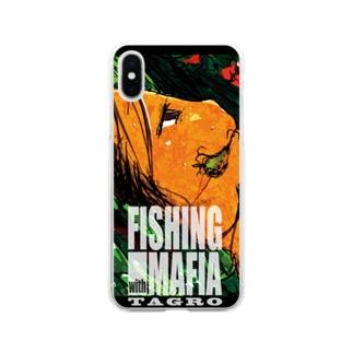 マフィアとルアー Soft clear smartphone cases