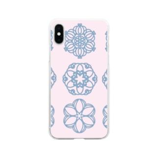 グルグル Soft clear smartphone cases