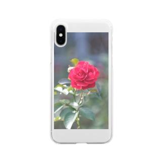 秋の香り Soft clear smartphone cases