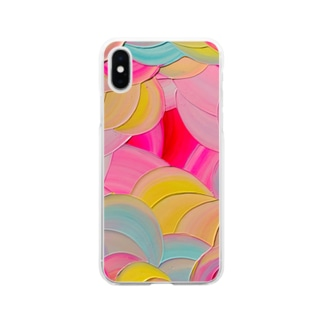 Candy drops  Soft clear smartphone cases