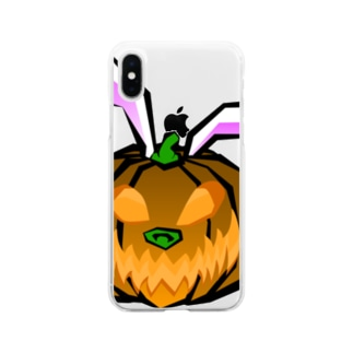 パンプキンバニー Soft clear smartphone cases