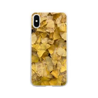 きいろ Soft clear smartphone cases