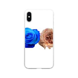 バラちゃん Soft clear smartphone cases