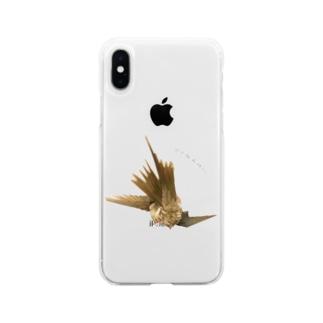 ダイナミックオカメ Soft clear smartphone cases