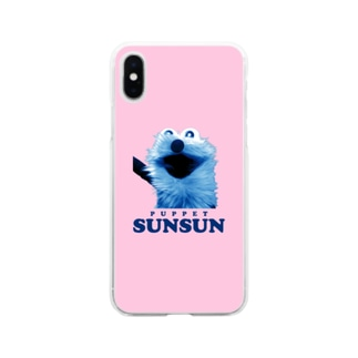 にこにこスンスン Soft clear smartphone cases