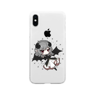 デ ビ ル Soft clear smartphone cases