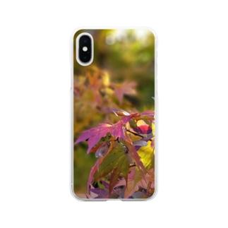 もみじちゃん Soft clear smartphone cases