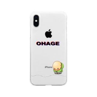 OHAGE② Soft clear smartphone cases