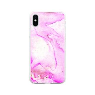 花霞 Soft clear smartphone cases
