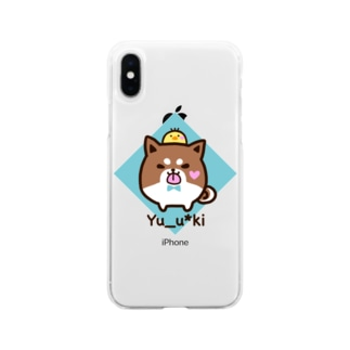 Yさんのグッズ Soft Clear Smartphone Case