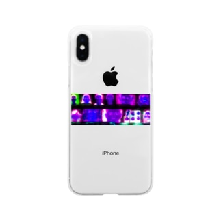 kairi nagashimaのfaceface_3 Soft Clear Smartphone Case