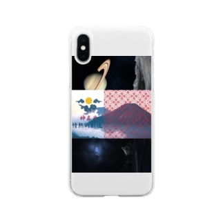 TSUBAMAILの情熱的創造 Soft clear smartphone cases
