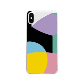 ソフトクリア スマホケース/a_005(トリミングシリーズ) Soft clear smartphone cases