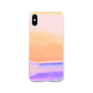 Orange view Soft clear smartphone cases