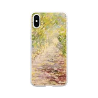 光の通り道 Soft clear smartphone cases