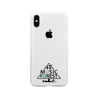 IT MUSIC FOREST チャリティーグッズ Soft clear smartphone cases