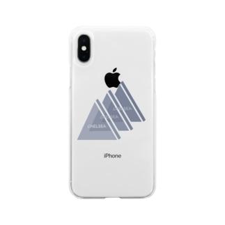 ちぇるしーのグッズ売り場のちぇるしー△ Soft clear smartphone cases
