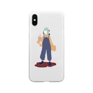 煮豆 Soft clear smartphone cases