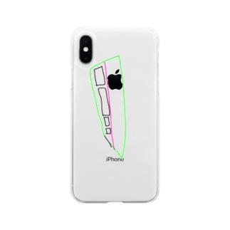 新幹線 Soft clear smartphone cases