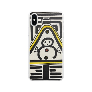DBくん Soft clear smartphone cases